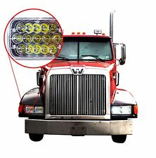 2x LED Headlights for Western Star 4900 Semi Truck Commercial Vehicle