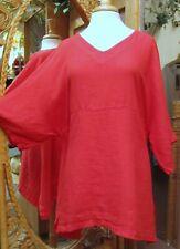 Match Point Linen Tunic Artist's Kimono 2021 Colors Handkerchief Weight HLT 248