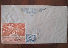 INDOCHINE FRANCE Air Mail Indo china cover colonie Cambodge poste aerienne