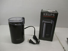 NEW Krups (F2034251) Electric Spice and Coffee Grinder Stainless Steel - Black