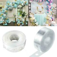 5M Balloon Link Chain Tape Arch Connect Strip For Wedding Party Birthday Fa U3S9