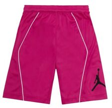 Nike Air Jordan Jumpman Girls Basketball Pink Shorts Size 6X