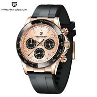 Pagani Design Mens 100m Waterproof Chronograph Japan Quartz Movement Wrist Watch