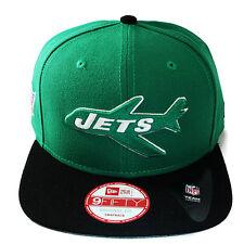 New Era NFL New York Jets Vintage Snapback Hat 2tone Color Original Fit Cap