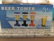New 3L Capacity beer tower dispenser With Led Lights