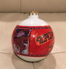 "Vintage Mary Engelbreit 1986 Christmas Ornament ""Play & Make Good Cheer�"