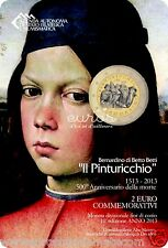 "Pièce 2 euro SAINT MARIN 2013  ""PINTURICCHIO"" - BU - Neuve"
