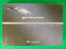 2008 08 Kia Rondo Owners Manual  Near New  G13B