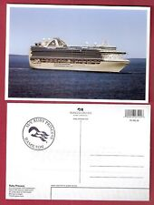 ms Ruby Princess.pc white boarder W/ ships official stamp