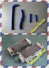 aluminum alloy radiator and hose yamaha YZ250F/YZF250 2002 2003 2004 2005