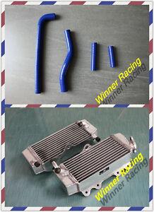 aluminum radiator and hose for yamaha YZ250F/YZF250 2002 2003 2004 2005