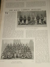 1902 Royal Garnison Artillerie Gunners 31st Co.Bommel