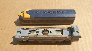 N Scale Kato 176-2129 AT&SF Santa Fe F7 A Unit Diesel Incomplete Missing Parts