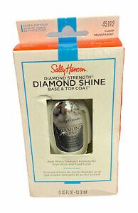 Sally Hansen Diamond Strength Diamond Shine Base & Top Coat 45112 Clear 0.45 OZ