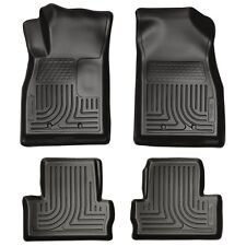 Husky Liners WeatherBeater Floor Mats- 4pc- 98181 - Chevy Volt 2011-2015 - Black