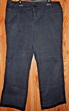 Lane Bryant Venezia Jeans 20 Petite Pants Black~4 pockets~inseam 27