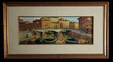 Dipinto ad olio: Piero Pellegrini - Livorno sec. XX