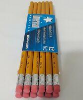 Vintage American Pencils Sanford Made USA 12 Pack No.2 Anti Smudge Eraser 1999