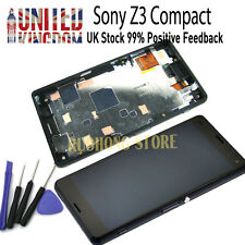 LCD Touch Screen Digitizer Frame Replacement For Sony Xperia Z3 Compact D5803