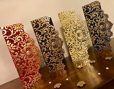 10 X Assorted Vintage Laser Cut Wedding Invite Salami Money Gift Envelope Wallet