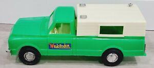 VINTAGE AURORA GMC WEEK-ENDER GREEN PROCESSED PLASTIC PICK UP TRUCK VERY NICE