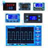 PWM Pulse Frequency Signal Generator 1/2/3 Way Duty Cycle Adjustable LCD Display