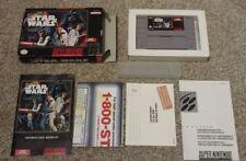 Super Star Wars - RARE, COMPLETE - Super Nintendo SNES NTSC