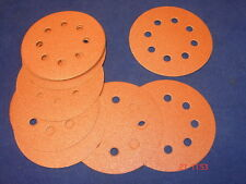 20 X 115mm agujero perforado Velcro Discos de Lijado 8 para Lijadora Orbital 100 Grit