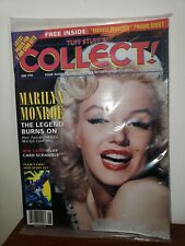 NEW TUFF STUFF'S COLLECT! MAGAZINE, JUNE 1994 (VOL. 2 NO. 4) MARILYN MONROE CARD