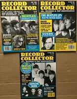 THE BEATLES feat ~ 3 x RECORD COLLECTOR MAGAZINES  ~~  Nos 196,206,230,  ~~  Ex!