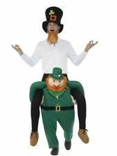 Piggyback Paddy's Leprechaun Costume Smiffys Fancy Dress St Patrick?s Day Irish