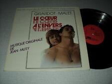 BOF LE COEUR A L'ENVERS 33 TOURS BELGIQUE JEAN MUSY ANNIE GIRARDOT MALET