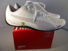 Puma Ferrari SF Drift Cat 5 Ultra Puma White Shoes Men's Size 14 New In Box