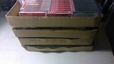 Lot 200 Empty cassette cases, variety of colors, please see pictures
