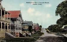 NIANTIC, CT ~ CRESCENT BEACH, MIDDLETOWN ROW, DANZIGER & GERMAN, PUB ~ c.  1910s