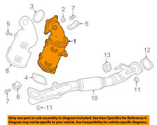 GM OEM Exhaust System-Catalytic Converter 12666605
