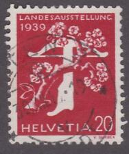 Switzerland 1939 # 262a Tree and Crossbow - Used