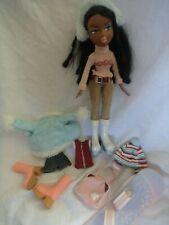 Bratz Sasha Winter Wonderland doll 2003 and some outfit