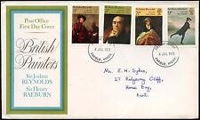 GB FDC 1973 British Painters, Enfield FDI #C19429
