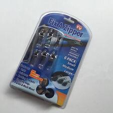 ☆ LOT FIX A ZIPPER Kit 6 Zipper Réparation Fermeture Éclair /Manteau/Veste..