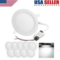 10X Dimmable Epistar Recessed LED Panel Light 3W 9W 15W 18W  Ceiling Down Lights