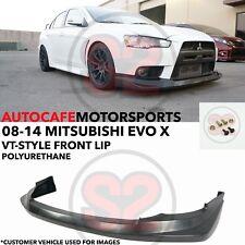 S2 Auto Design VT-Style Front Lip (Urethane) For 08-15 Mitsubishi EVO X