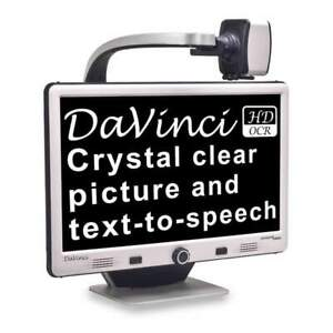 Enhanced Vision DaVinci HD/OCR All-In-One Desktop Magnifier, DAVU1E24A