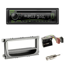 Kenwood USB CD Radio Ford Galaxy Ab2007 blende Silber Quadlock Adapter