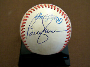 BOBBY MURCER NEW YORK YANKEES 5 X A/S SIGNED AUTO GAME USED OAL BASEBALL JSA