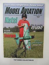 Model Aviation Magazine   November  2009      Frank Beatty's Stearman