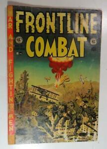 FRONTLINE COMBAT EC COMIC #13 JULY 1953 WALLY WOODS JACK DAVIS GEORGE EVANS