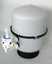 Sandfilter Filterbehälter Bilbao 500 6-Wege-Ventil Poolfilter Teichfilter