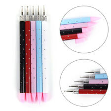 Different Head Dotting Pen Nail Dotting Tool Tips Bead Picker Wax Pencil LY
