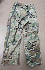 British Army Issue MTP Multicam Lightweight GoreTex Waterproof Trousers SMALL UK
